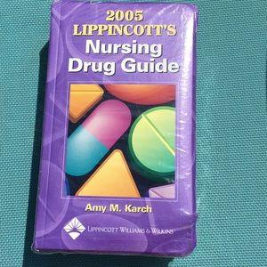 Book,Nursing Drug Guide